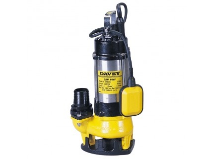 Davey Pumps Submersible Vortex D40VA Pump