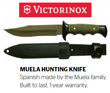 Hunting Knives Muela